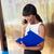 mujer · de · negocios · lectura · documentos · hablar · teléfono · sonriendo - foto stock © deandrobot