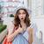 céleste · jambes · belle · jeunes · brunette · femme - photo stock © deandrobot