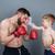 famille · confrontation · père · en · fils · enfants · visage · homme - photo stock © deandrobot