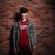 adolescent · stéréo · casque · photo · Homme · fin - photo stock © deandrobot