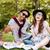 ślub · para · trawy · piękna · odkryty - zdjęcia stock © deandrobot