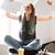 jeunes · affaires · heureux · excité · gagnant · femme - photo stock © deandrobot
