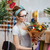 femenino · florista · ramo · amistoso · Asia - foto stock © deandrobot