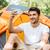 turisztikai · sátor · hátizsák · kint · kempingezés · utazás - stock fotó © deandrobot