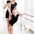 ballet · klasse · studio · helpen · jonge · balletdanser - stockfoto © deandrobot