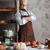 ?an baker standing at bakery near bread stock photo © deandrobot