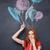 colorato · ritratto · donna · giovani · bella · donna - foto d'archivio © deandrobot