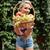 cute · jong · meisje · appelboomgaard · romantische · zonnige - stockfoto © deandrobot
