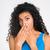 afro · amerykański · kobieta · portret · odizolowany - zdjęcia stock © deandrobot