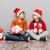 christmas · kinderen · hoeden · presenteert · tijd - stockfoto © deandrobot