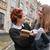 étudiant · deux · filles · étudier · ensemble · femme - photo stock © deandrobot