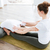 twee · vrouwen · vloer · yoga · centrum · twee - stockfoto © deandrobot