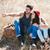 camping · sorridente · juntos · carro · verão - foto stock © deandrobot