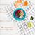felső · kilátás · granola · bogyók · alma · croissant - stock fotó © deandrobot