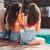 cocktails · zwembad · water · zonnebril · strand · hemel - stockfoto © deandrobot