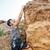岩 · 下 · 手 · 陡 - 商業照片 © deandrobot