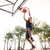 jonge · speler · stedelijke · stad · basketbalveld · Maakt · een · reservekopie - stockfoto © deandrobot