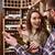 ワイン · スーパーマーケット · 家族 · 少女 · 男性 - ストックフォト © deandrobot