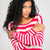 afro · americano · mujer · posando · armas · doblado - foto stock © deandrobot