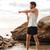 jóvenes · saludable · atleta · hombre · músculos - foto stock © deandrobot