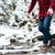 wandelen · schoenen · man · wandelaar · balancing · rivier - stockfoto © deandrobot