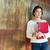 мышления · деловая · женщина · Постоянный · прихожей · деловой · женщины - Сток-фото © deandrobot