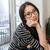 вид · сбоку · азиатских · женщину · окна · свитер · Постоянный - Сток-фото © deandrobot