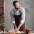 концентрированный · человека · Бейкер · Постоянный · хлебобулочные · хлеб - Сток-фото © deandrobot