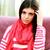dalgın · güzel · esmer · kadın · kazak · dokunmak - stok fotoğraf © deandrobot