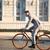ハンサムな男 · ライディング · 自転車 · カジュアル · ハンサム · ビジネスマン - ストックフォト © deandrobot