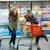 casal · mercearia · compras · jovem · amoroso · supermercado - foto stock © deandrobot