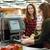 nő · pénztárgép · fizet · hitelkártya · mosolygó · nő · áruház - stock fotó © deandrobot