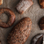 Pastries and bread with flour on table stock photo © deandrobot