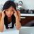 vrouw · migraine · hoofdpijn · moe · zakenvrouw · stress - stockfoto © deandrobot
