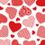 sem · costura · corações · casamento · projeto · arte · grupo - foto stock © dece