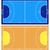 ハンドボール · フィールド · 詳しい · 実例 · eps10 · ベクトル - ストックフォト © dece
