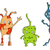 illustration of different germs stock photo © dece