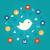 usuário · balão · de · fala · colorido · ícones · textura - foto stock © decorwithme