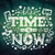 time is now   modern lettering on abstract background stock photo © decorwithme