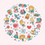 ontwerp · valentijnsdag · liefde · romantiek · iconen · briefkaart - stockfoto © decorwithme