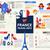 パリ · 有名な · シンボル · セット · コレクション · 旅行 - ストックフォト © decorwithme