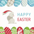 happy easter   modern vector card stock photo © decorwithme