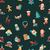 illustration of christmas and happy new year flat design pattern with icons stock photo © decorwithme
