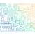 cidade · vida · linha · projeto · cor · gradiente - foto stock © decorwithme