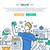 ludzi · biznesu · nowoczesne · wektora · kolorowy · cartoon - zdjęcia stock © decorwithme
