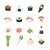 суши · дизайна · набор · продовольствие · рыбы · сердце - Сток-фото © decorwithme