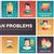 menselijke · problemen · lijn · ontwerp · ingesteld - stockfoto © decorwithme