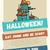 halloween · vonal · terv · kártya · buli · egyszerű - stock fotó © decorwithme
