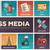 mass media line design icons set stock photo © decorwithme