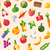 vers · fruit · groenten · restaurant · menu · ontwerp · blad - stockfoto © decorwithme